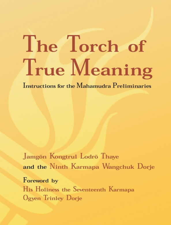 Ngondro: The Torch of True Meaning by Kongtrul (PDF)