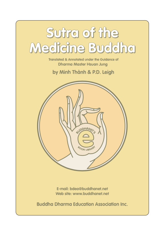 The Sutra of the Medicine Buddha translated by Thanh (PDF)