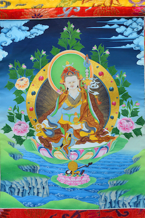 Guru Rinpoche on the Lake (Downloadable Photo)