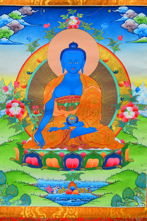 Medicine Buddha Alone (Downloadable Photo)