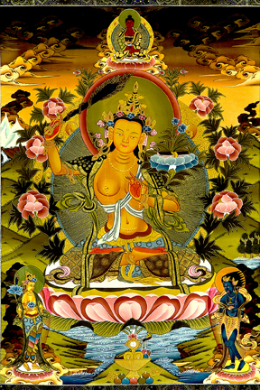 Golden Manjushri (Downloadable Photo)