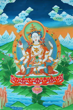 Namgyalma or Ushnisha Vijaya (Downloadable Photo)