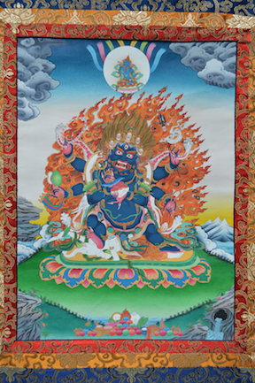 Six Armed Mahakala (Downloadable Photo)