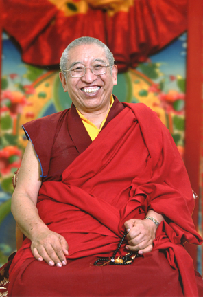 Venerable Thrangu Rinpoche (Downloadable Photo)