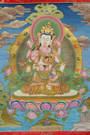 Vajrasattva in YabYum (Downloadable Photo)