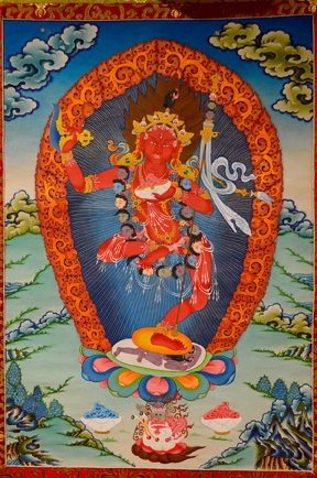 Vajrayogini Dancing (Downloadable Photo)