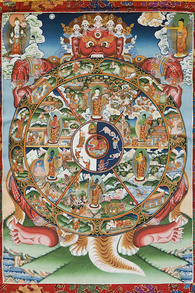 Wheel of Life or Samsara (Photo)