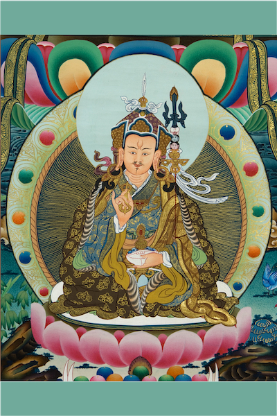 Guru Rinpoche in Konchog Chidu Mudra (Photo)