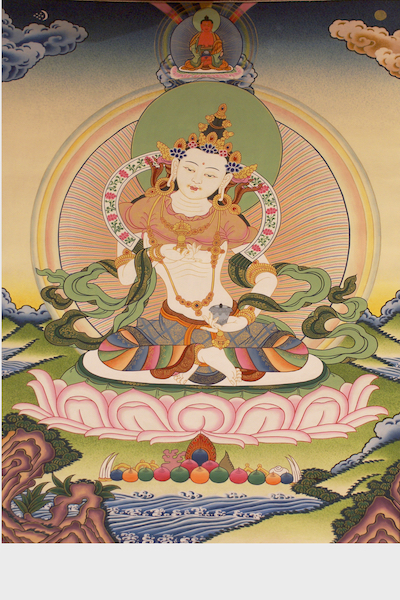 Vajrasattva Alone, Deity of Purification (Downloadable Photo)