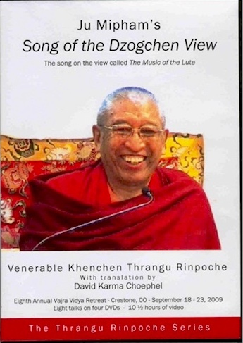 Song of the Dzogchen View by Mipham (YouTube video)