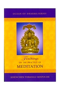 Teachings on the Practice of Meditation (PDF)