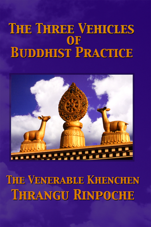 Three Vehicles of Buddhist Practice E-Book (Mobi)