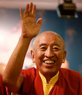 Thrangu Rinpoche celebrates his 87th birthday